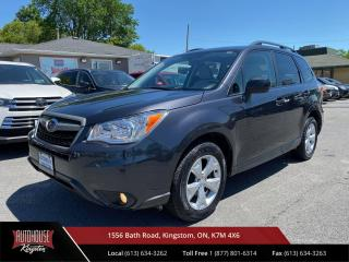 Used 2015 Subaru Forester 2.5i Convenience Package Heated Power Seating, Alloy Wheels. for sale in Kingston, ON