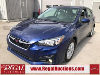 Used 2018 Subaru Impreza Touring 4D HATCHBACK AWD 2.0L for sale in Calgary, AB