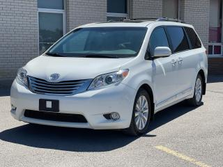 Used 2015 Toyota Sienna LIMITED AWD NAVIGATION/PANORAMIC SUNROOF/DVD for sale in North York, ON