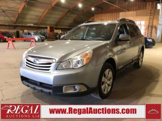 Used 2011 Subaru Outback 4D Wagon AWD for sale in Calgary, AB