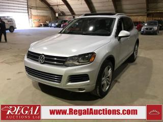 Used 2012 Volkswagen Touareg 4D Utility for sale in Calgary, AB