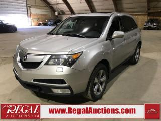 Used 2013 Acura MDX 4D Utility AWD for sale in Calgary, AB