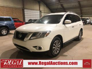 Used 2015 Nissan Pathfinder SV 4D Utility 4WD for sale in Calgary, AB