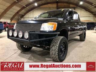 Used 2008 Nissan Titan CREW CAB 4WD for sale in Calgary, AB