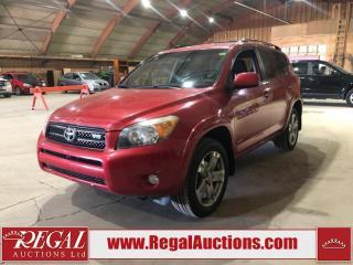 Used 2008 Toyota RAV4 Sport 4D Utility V6 for sale in Calgary, AB