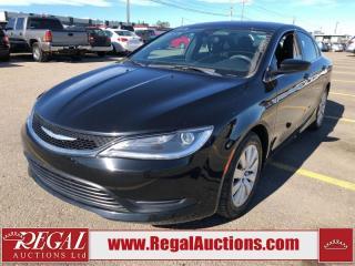 Used 2016 Chrysler 200 LX 4D Sedan 2.4L for sale in Calgary, AB