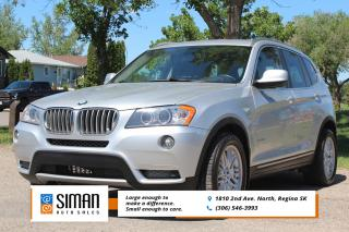 Used 2014 BMW X3 xDrive28i IMACULATE CONDITION for sale in Regina, SK