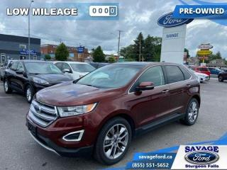 Used 2015 Ford Edge TITANIUM  - Power Liftgate - Alloy Wheels - $197 B for sale in Sturgeon Falls, ON