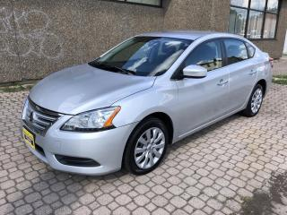Used 2014 Nissan Sentra 1.8 S S with ECO MODE for sale in Hamilton, ON