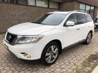 Used 2014 Nissan Pathfinder Platinum luxury 4WD for sale in Hamilton, ON