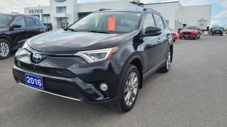Used 2016 Toyota RAV4 Hybrid 4dr Limited for sale in Kingston, ON