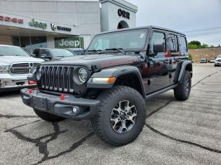 Used 2018 Jeep Wrangler Unlimited Rubicon for sale in Sarnia, ON