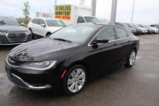 Used 2015 Chrysler 200 Limited | Sale! June 24th On All Inventory! for sale in Whitby, ON