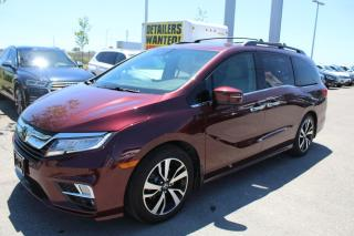 Used 2018 Honda Odyssey 3.5L Touring Auto for sale in Whitby, ON