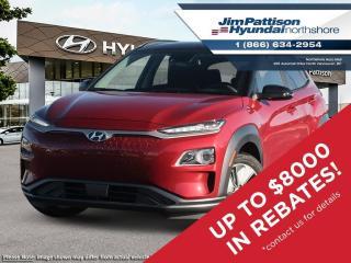 New 2021 Hyundai KONA EV Preferred w/Two Tone for sale in North Vancouver, BC