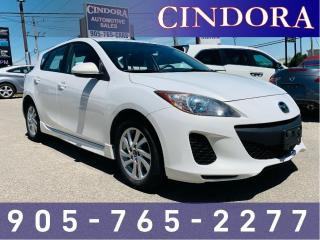 Used 2013 Mazda MAZDA3 GS-SKY, Auto, Roof, Heated Seats for sale in Caledonia, ON