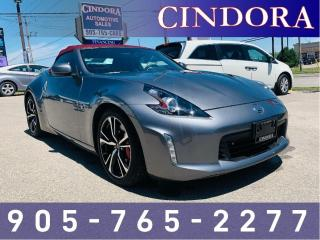 Used 2018 Nissan 370Z Roadster Touring Sport w/Bordeaux Top for sale in Caledonia, ON
