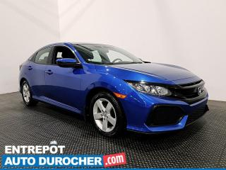 Used 2019 Honda Civic Hatchback LX - Bluetooth - Caméra de Recul - Climatiseur for sale in Laval, QC