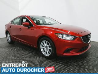 Used 2017 Mazda MAZDA6 GS -Navigation - Toit Ouvrant - Climatiseur - Cuir for sale in Laval, QC