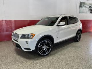 Used 2013 BMW X3 28i XDrive NAVI PANO-ROOF PARKING AID BLUETOOTH INTEGRATION for sale in North York, ON