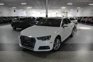 Used 2017 Audi A4 QUATTRO NO ACCIDENTS I SUNROOF I PUSH START I HEATED SEATS for sale in Mississauga, ON