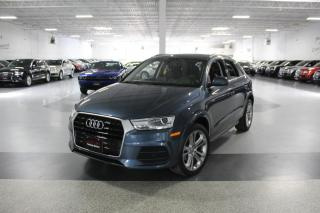 Used 2017 Audi Q3 PROGRESSIV NO ACCIDENTS I NAVIGATION I PANOROOF I REAR CAM for sale in Mississauga, ON