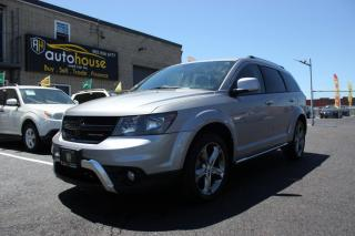 Used 2016 Dodge Journey AWD/CROSSROAD/SUNROOF/DVD/NAV/BACKUPCAMERA/LEATHER INTERIOR for sale in Newmarket, ON