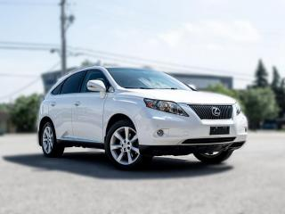 Used 2011 Lexus RX 350 TECH PKG |NAV |BACKUP |ROOF |DVD | HEADSUP DISPLAY for sale in North York, ON