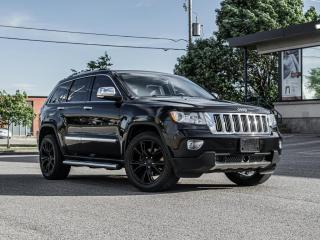 Used 2012 Jeep Grand Cherokee Limited |NAV|PANOROOF |ACC |R.STARTER| B.spot|Clean carfax for sale in North York, ON