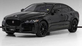 Used 2018 Jaguar XE 30t AWD R-Sport HUD, Navi, Red Interior, Camera for sale in Vaughan, ON