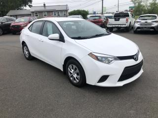 Used 2014 Toyota Corolla LE for sale in Truro, NS