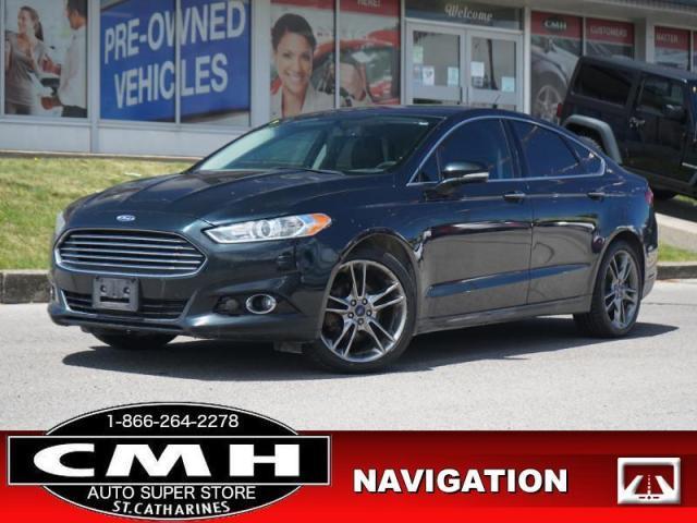 2014 Ford Fusion Titanium  NAV CAM LEATH P/SEATS 19-AL