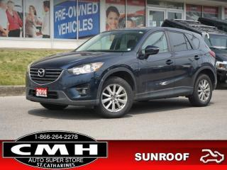 Used 2016 Mazda CX-5 GS  CAM BLIND-SPOT ROOF HTD-SEATS 17-AL for sale in St. Catharines, ON