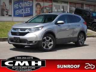 Used 2018 Honda CR-V EX AWD  CAM ADAP-CC ROOF HTD-SEATS 18-AL for sale in St. Catharines, ON