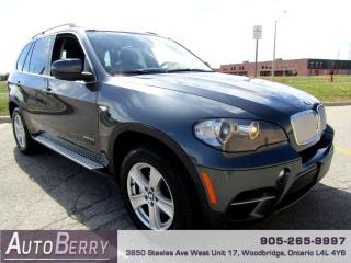 Used 2011 BMW X5 xDrive50i Accident Free!!! Low KM!!! for sale in Woodbridge, ON