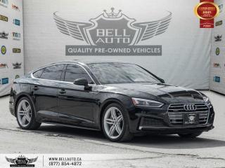 Used 2018 Audi A5 Sportback Progressiv, S-LINE, AWD, Navi, RearCam, Pano,Bluetooth for sale in Toronto, ON
