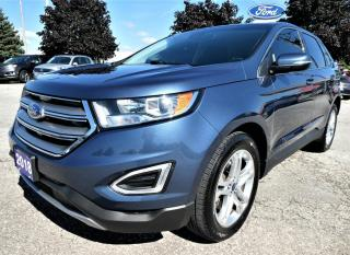 Used 2018 Ford Edge Titanium | Cooled Seats | Blind Spot Detection | Navigation for sale in Essex, ON