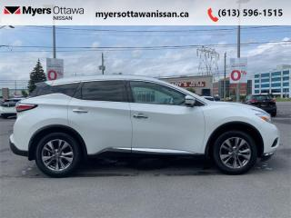 Used 2016 Nissan Murano SL  - Sunroof -  Navigation for sale in Ottawa, ON