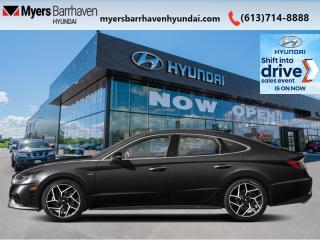New 2021 Hyundai Sonata 2.5T N Line  - Sunroof -  Heated Seats - $251 B/W for sale in Nepean, ON