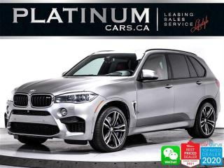 Used 2017 BMW X5 M 567HP, EXEC PKG, NAV, HUD, PANO, 360, HEATED for sale in Toronto, ON