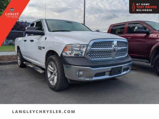 Used 2017 RAM 1500 SXT  Bluetooth/ Tonneau/ Seats 6/ Single Owner for sale in Surrey, BC