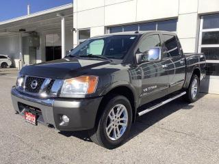 Used 2012 Nissan Titan 4WD Crew Cab SWB SL for sale in North Bay, ON