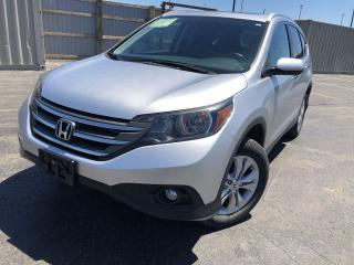 Used 2014 Honda CR-V Touring AWD for sale in Cayuga, ON
