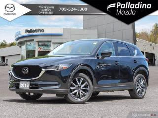 Used 2018 Mazda CX-5 GT - ONE OWNER - LOW MILEAGE - WHITE LEATHER for sale in Sudbury, ON