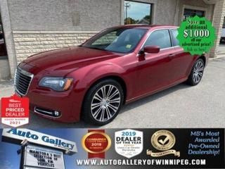 Used 2013 Chrysler 300 S* Panoramic Sunroof/Remote Starter/NAVIGATION for sale in Winnipeg, MB