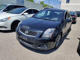 Used 2011 Nissan Sentra SE-R SPEC V Manual  Moonroof for sale in Waterloo, ON