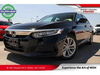 Used 2019 Honda Accord LX   CVT   Android Auto/Apple CarPlay for sale in Whitby, ON