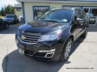 Used 2015 Chevrolet Traverse ALL-WHEEL DRIVE LT-EDITION 7 PASSENGER 3.6L - V6.. SLIDING CAPTAINS.. THIRD ROW.. HEATED SEATS.. DUAL SUNROOF.. BACK-UP CAMERA.. BLUETOOTH.. for sale in Bradford, ON