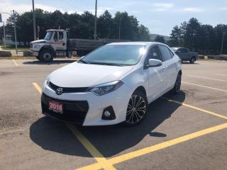 Used 2016 Toyota Corolla S I SUNROOF I CAM I HTD SEATS for sale in Concord, ON