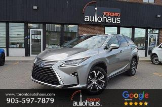 Used 2018 Lexus RX 450h L EXECUTIVE I HYBRID I NO ACCIDENTS for sale in Concord, ON